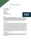 International Civil Aviation Organisation