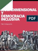 Crisis Multidimensional, y democracia Inclusiva. Libro.