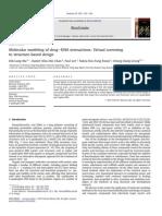 Molecular modeling of drugeDNA interactions