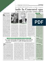 ItaliaOggi_13.10.12 - Monti chiude la Concorsi spa