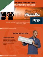 Adiestramiento Para Funcionarios Elecciones Generales 2012