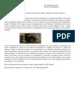 Maestros como mediadores del disfrute y el aprendizaje - APENET 2012