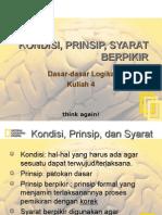 kondisi, prinsip, syarat berpikir (4)