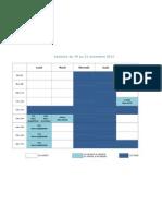 Planning Du CDI