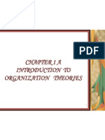 1-Introduction of Organization Theories
