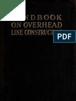 Handbook on Overhead Line Construction