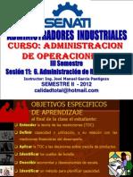 Administracion de las Restricciones (TOC)