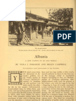 Albania, A New Nation in an Old World - Scribner's Magazine (1922) - V. I. Paradise, H. Campbell