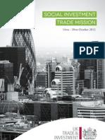 UKTI Social Investment Trade Mission Brochure