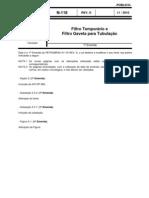 N-0118 - Filtro Temporário e Filtro Gaveta para Tubulação