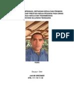 Kompensasi Kepuasan Kerja Dan Promosi Jabatan