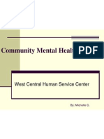 Community Mental Health Clinical Presentation 2