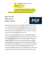 Key to Ielts Writing Topic on 26th May, 2012