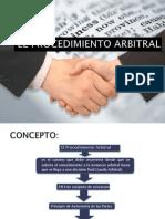 El Procedimiento Arbitral