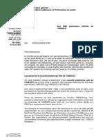 UNESCO - Lettre d'Information Mensuelle Octobre 2012