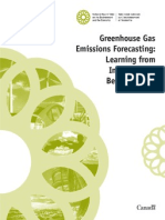 Greenhouse Gas Emissions Forecasting