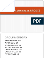 Infosys Succession Planning