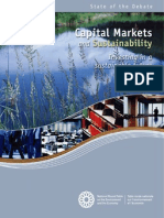 Capital Markets and Sustainability