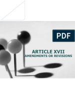 Article Xviiamendments or Revisions