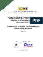 Anteproyecto Norma Colombiana