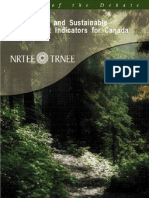 Environment and Sustainable Development Indicators for Canada
