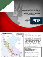 presentación Carretera de los Andes