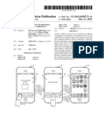 Apple's Patent Application US20120258773