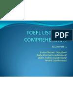 TOEFL Listening Comprehension