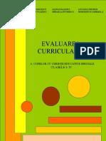 Ghid de Evaluare Curriculara