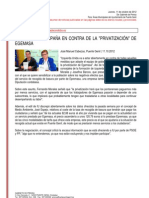 Resumen de Prensa 11-10-2012