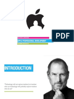 Giorgio Ungania Apple Professional Development Training Modules