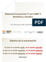 Balanced Scorecard de IT Por FrancoIT_GRC
