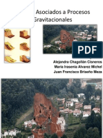 Riesgos Asociados a Procesos Gravitacionales