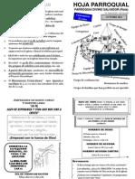 Hoja Parroquial Comienzo Curso 2012-13