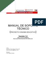 Manual de soporte técnico Canaimitas