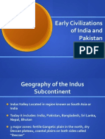 Early Civ of India and Pakistan