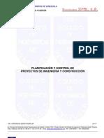 Teoria Planificacion y Control de Proyectos