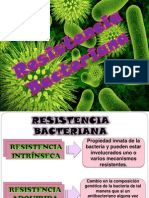 Farmacologia Resistencia Bacteriana