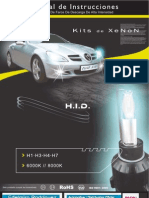 Manual Kit Xenon