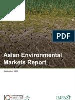 Asian Environmental Markets Report