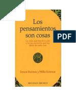 Los Pensamientos Son Cosas (Ernest Holmes Y Willis Kinnear)