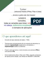 Listas_Lineares_CONCEITOS_2010