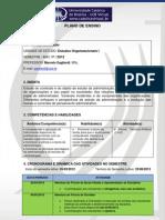 01 - Plano de Ensino - Estudos Organizacionais I