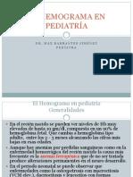 El Hemograma en Pediatría