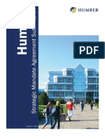 Ontario - Institutional Vision, Proposed Mandate Statement and Priority Objectives - Humber College