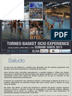Dossier Torneo Oliva 2013 Para Equipos