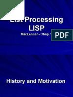 Maclennan Chap9 Lisp