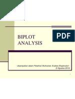 Biplot Analysis