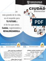 Propaganda de Santiago de Surco en zonas en conflicto limitrofe