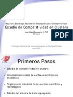Estudio Competitividad en Clusters
